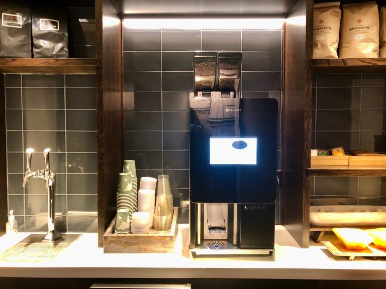 Hilton Burlington Coffee Station