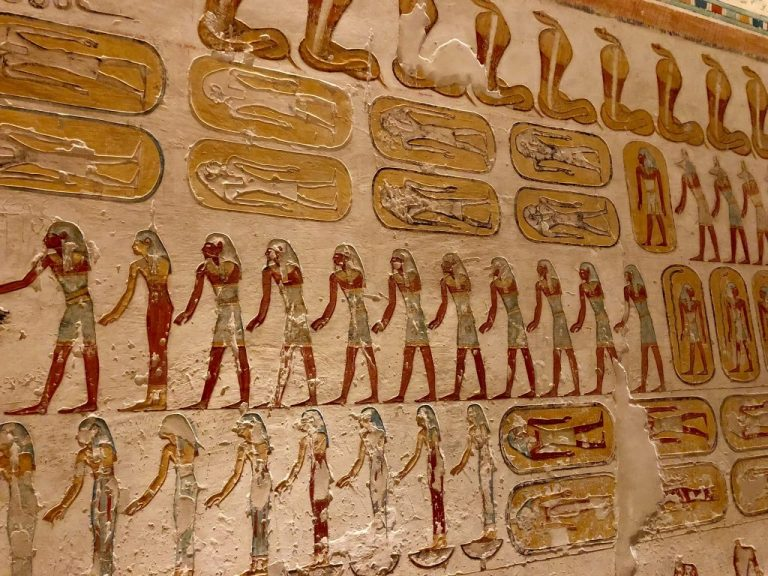 Tomb in Valley of the Kings
