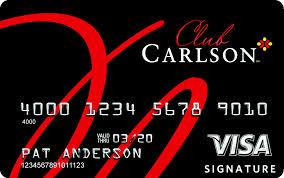 club carlson credit card