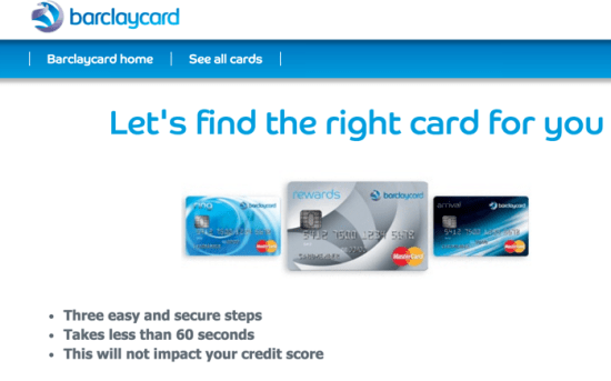 Barclays Credit Card Special Offers