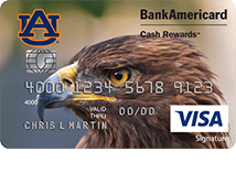 Auburn University Credit Card