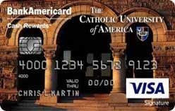 Catholic University of America Credit Card
