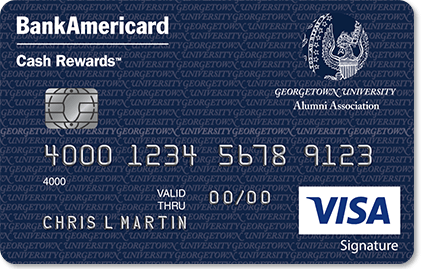 Georgetown University Credit Card