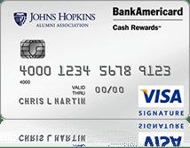 John Hopkins University Credit Card