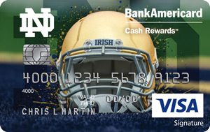Notre Dame University Credit Card