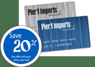 Pier 1 Credit Card
