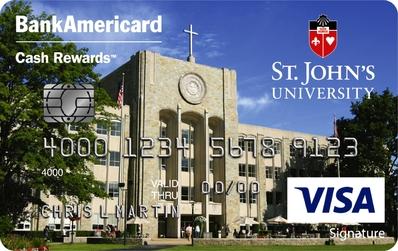 St John's University Credit Card
