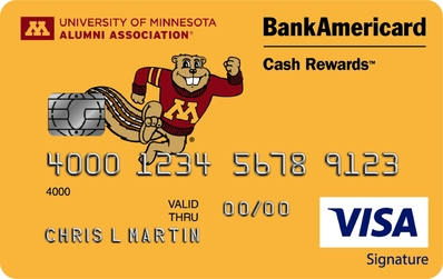 University of Minnesota Credit Card