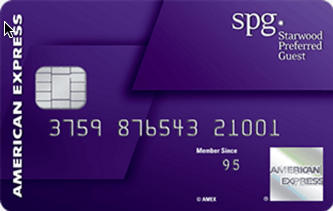 American Express Starwood SPG Personal