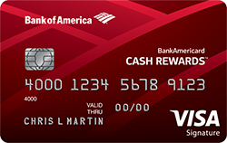BankAmericard Cash Rewards