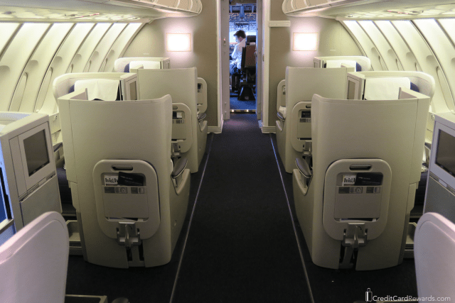 British Airways 747 400 Business Class Review Upper Deck