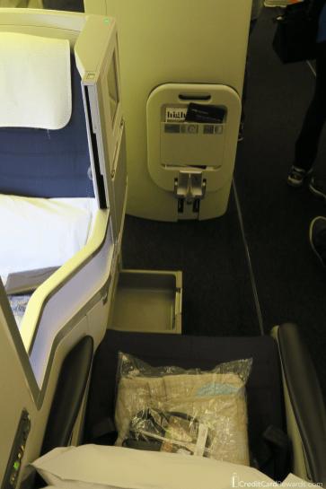 British Airways Business Class Aisle Seat