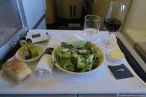 British Airways Business Class Salad