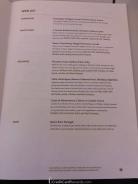 Air Canada Business Class Wine List