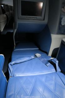 Delta One 767 Business Class Lie-Flat Bed