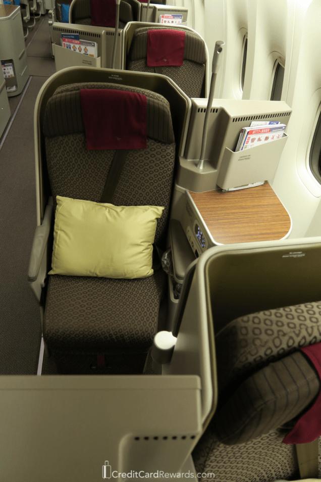 Garuda Indonesia Business Class Aisle Seat