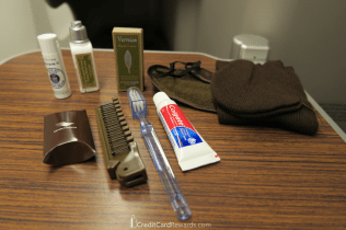 Garuda Indonesia Business Class Amenity Kit Contents