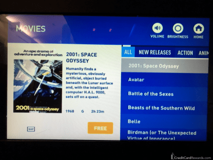 JetBlue Mint Movies