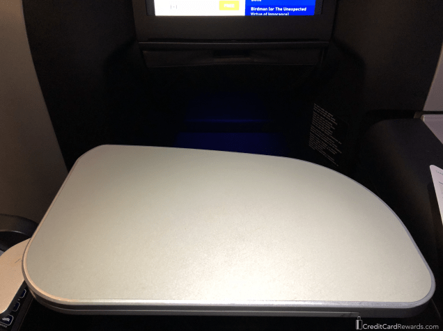 JetBlue Mint Traytable