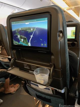 Cathay Pacific Economy Mini Traytable