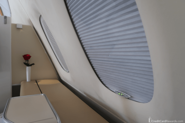 Lufthansa First Class Microfiber wall covering