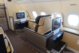 Lufthansa First Class Seat 1K