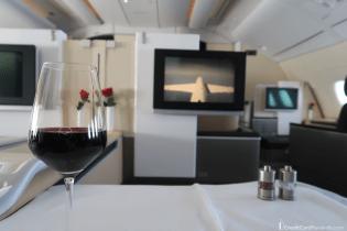 Lufthansa First Class Wine