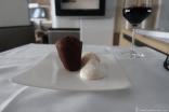 Lufthansa First Class Dessert