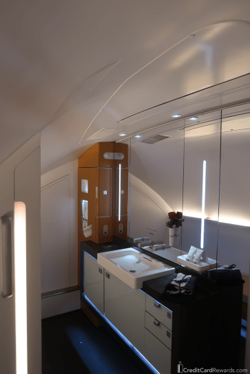 Lufthansa First Class Bathroom