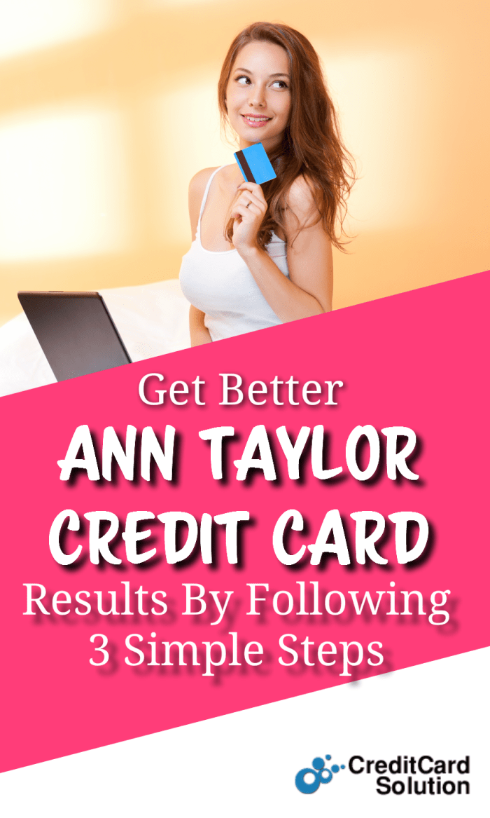 Ann Taylor Credit Card