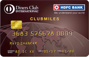 HDFC Diners Club Miles