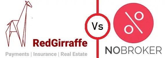Pay rent via credit cards - RedGiraffe vs NoBroker