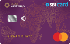 SBI Club Vistara