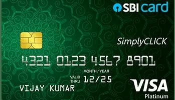 SBISimplyClickCreditCard