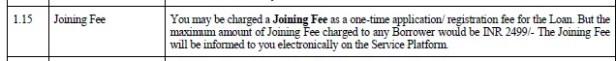T&C-Annual Fees