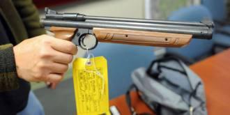 BB gun, evidence