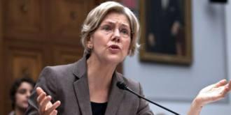 Senator Elizabeth Warren and Big Banks