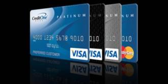 Visa Platinum from Credit One Bank