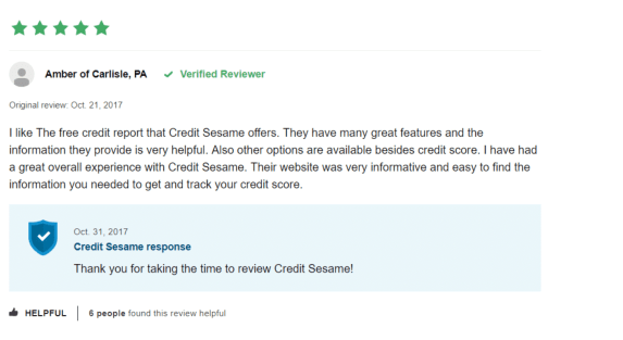 credit sesame app review