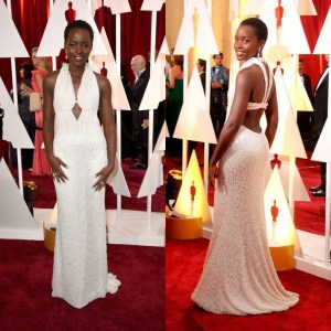 Lupita Nyong'o's Pearl-Covered Oscars Dress Has Been Stolen