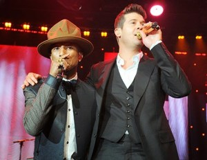 "Pharrell Williams and Robin Thicke Ordered to pay Marvin Gaye's Family $7.3 million for Coping Marvin Gay 1977 hit ""Got to Give It Up"""