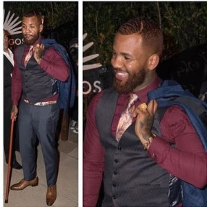 The Game Rocking Jidenna look Alike for Halloween