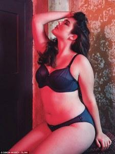 Alessandra smolders models in sultry lingerie shoot for SLINK Magazine