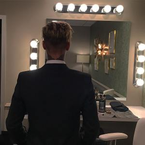 Justin Bieber Looking dapper in Suits as he display new Tattoo on the back of his neck