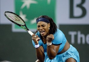 Serena Williams Beat Radwanska 6-4,7-6(1) to reach WTA Paribas Open Final