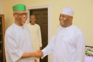 Former Vice President Atiku Abubakar Pay Courtesy Visit to APC national Chairman