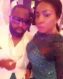 Anita Joseph shows off her Voluptuous Body as she attends Friends Wedding