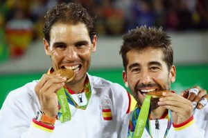 Rafael Nadal wins Olympic gold medal in men's doubles