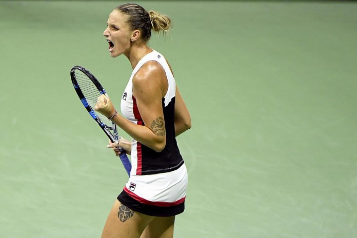 KarolinaPliskovaDefeats Caroline Wozniacki 6-2,6-4 at Cincinnati Open