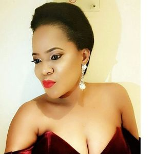 Toyin Aimakhu puts her Boobs on Display in stunning outfit